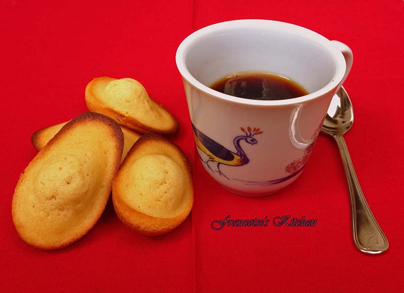 Classic Madeleines of Commercy - Francoise's Kitchen