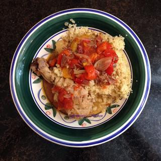 Basquaise Chicken – Pressure Cooker
