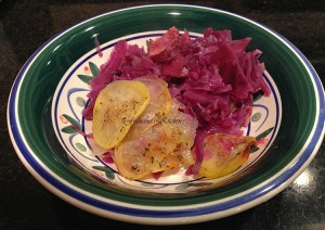 Red Cabbage Gratin