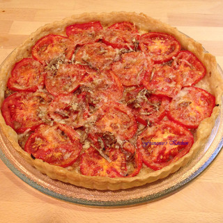 French Tomato and Mustard Tart