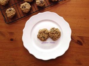Zucchini Oat Nut Chocolat Cookies