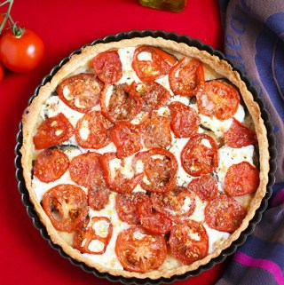 Eggplant Tomato Mozzarella