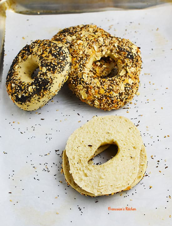 Bagels à Everything