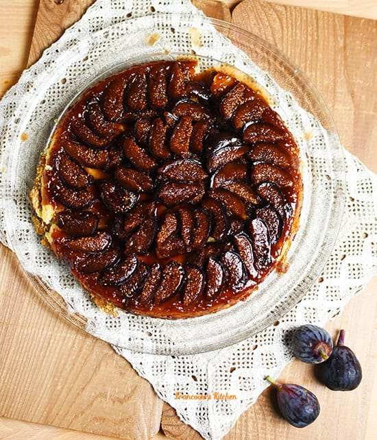 Fig Tart Tatin