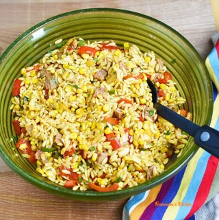 Easy Mexican-Style Pasta Salad with Sausage