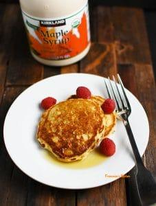 Lighter Buttermilk Oatmeal Pancakes