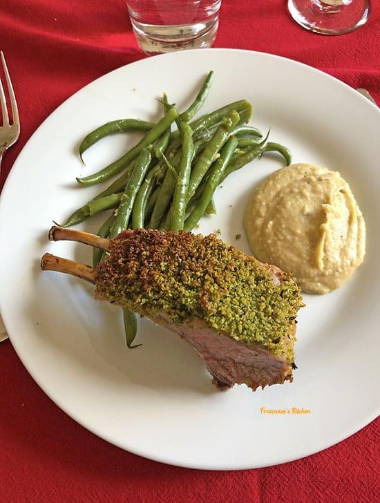 Herb Crusted Rack Lamb