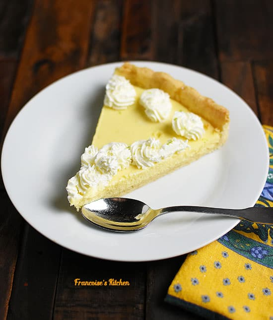 Key Lime Pie with Pie Crust