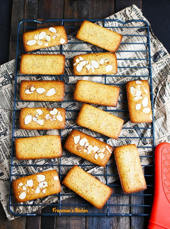 French Almond Financiers