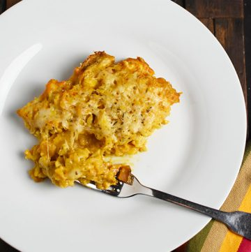 Curry Bechamel Cauliflower Gratin