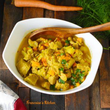 Veal Stew Fennel Orange